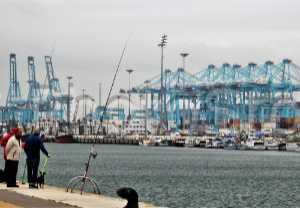 Paseo marítimo de Ribera en Algeciras.