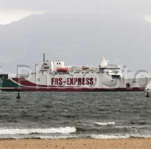 Ferry de la naviera alemana FRS de la línea Algeciras - Tánger.