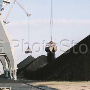 Grúas de la Autoridad Portuaria de Cádiz.